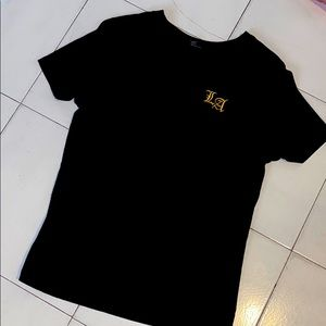 LA embroidered t shirt
